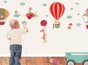 Vinilos infantiles para decorar habitación niños, Decohappy