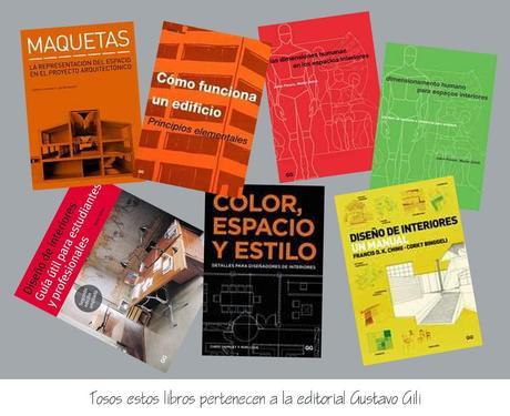 Libros de Diseño Interior y Arquitectura
