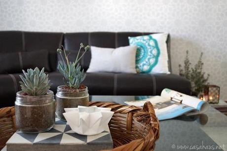 sala con detalles árabes | Casa Haus