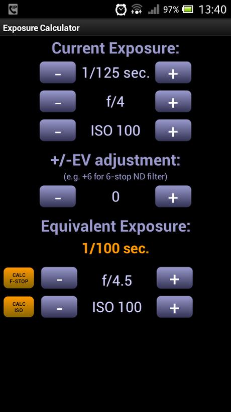 Aplicaciones móviles que nos ayudarán en fotografía II (Solo Android)