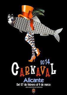 Ferias y Fiestas de marzo 2014 en la Provincia de Alicante: Carnaval, San José