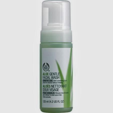 Lavado Facial Espumoso De Aloe Body Shop