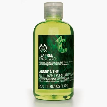 Lavado Facial Purificante De Árbol De Té De Body Shop