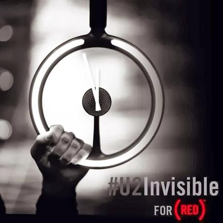 Descarga gratis 'Invisible' de U2 y ayuda a RED