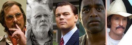 ¿Quién ganará el Óscar 2014 al mejor actor principal?