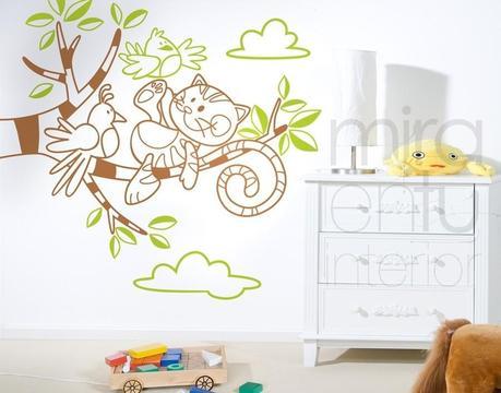 Comprar vinilos decorativos infantiles en la red paperblog - Vinilos originales infantiles ...