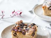 Pudding wholemeal bread, walnuts raisins Budín integral, nueces pasas