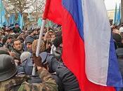 Protestas masivas Crimea entre partidarios detractores Rusia
