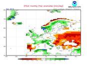 Previsión meteorológica Marzo Abril 2014 España según NOAA ECMWF