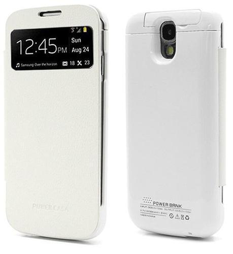 Funda con tapa y batería integrada para Galaxy S4