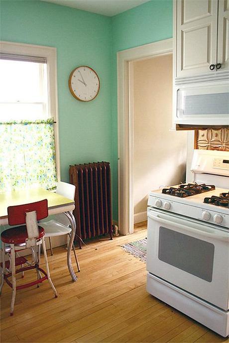 Antes despu s reforma de una cocina con pintura paperblog - Reformas de cocinas baratas ...