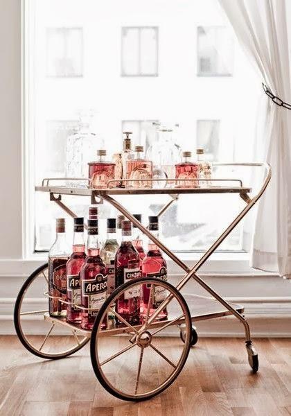Camareras vintage de metal y cristal blog de una cazachollos for Camarera mueble