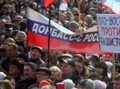 Miles personas protestan este Ucrania contra nuevo poder Kiev