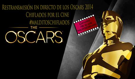 Retransmisión en directo de los Oscars 2014