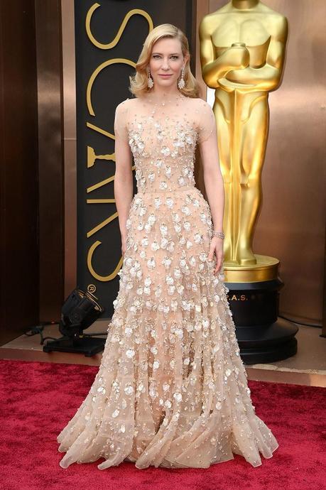 Red carpet: Los mejores estilismos de los Oscars 2014