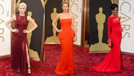 Alfombra roja Oscar 2014