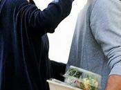 Theo Shailene desayunando