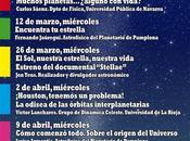 """Ciclo conferencias: """"Acércate universo"""" (Pamplona, España)"""