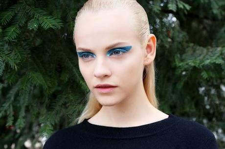 Blue Klein is the it beauty color for the next Fall/Winter 2014-2015!