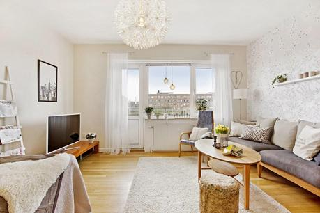 Como decorar un piso con muebles en color madera paperblog - Como decorar un piso ...