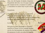 Llamamiento toro España (Miguel Hernández) Marchas dignidad