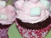 Cupcakes chocolate nubes