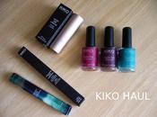 Haul: KIKO Cosmetics