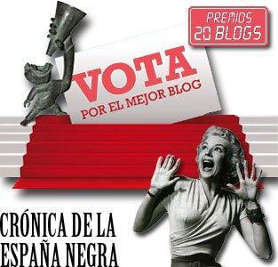 Entra en la Blogoteca en Premios 20Blogs para valorar este blog
