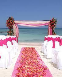 Ceremonia color rosa