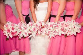 Damas de honor boda rosa
