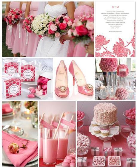 detalles para boda en rosa