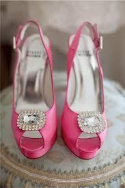 Zapatos novia rosa