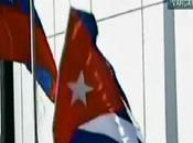Bandera Cuba llegar Raúl Castro Venezuela