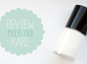 Review: Esmalte blanco perfecto Milk RARE.