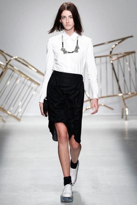 JULIEN DAVID PARIS FASHION WEEK O/I 2014 2015