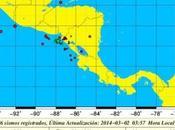 fuerte temblor Richter sacude Nicaragua.