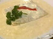 Tamal mexicano pescado nogada