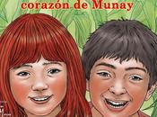 Color para corazón Munay. Presentación Feria Internacional Libro Trujillo
