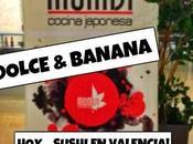 DOLCE BANANA: Hoy... Sushi Valencia!
