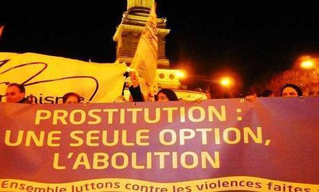 Manifestación abolicionista en París
