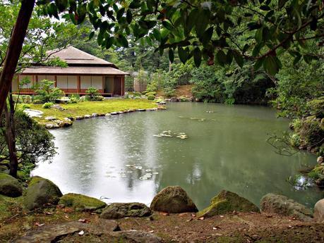 Kanazawa jardines geishas samur is y artesan a paperblog for Jardin kokoen