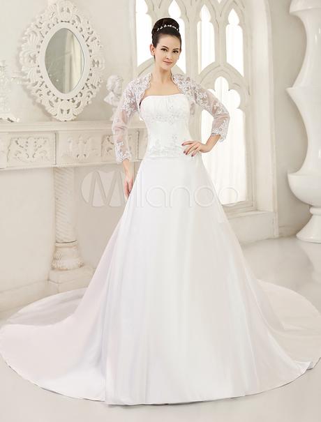 Vestidos De Nov... Princess Wedding Dresses With Corset