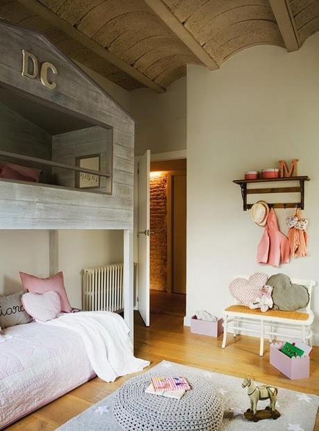 habitaciones juveniles e infantiles rusticas i paperblog