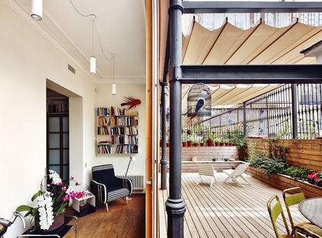 Un piso bajo con una gran terraza paperblog for Decoracion terraza piso bajo