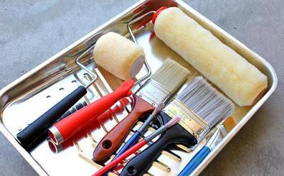 Limpiar pinceles y rodillos paperblog - Brochas pintura ...