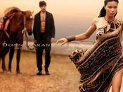 Adriana Lima Increíble para Donna Karam Spring 2014