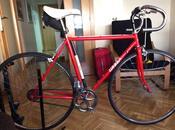 Trabajos corazón. Restauración Bicicleta
