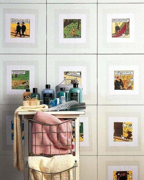 Algunas ideas para decorar las paredes de tu ba o paperblog - Paredes para bano ...