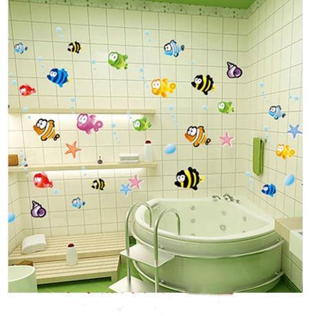 Algunas ideas para decorar las paredes de tu ba o paperblog for Ideas para decorar banos infantiles