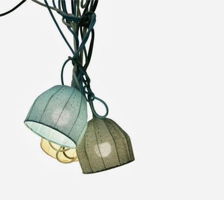 LAMPARAS DE PUNTO Y CROCHET
